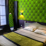 We stayed at this amazing hotel, the Sorbonne, which Sasha had stayed at the last time she was in Paris. The decor was really neat inside - the room was small, but really nice. It was a grea ...